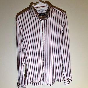 Zara men's dress/casual button up
